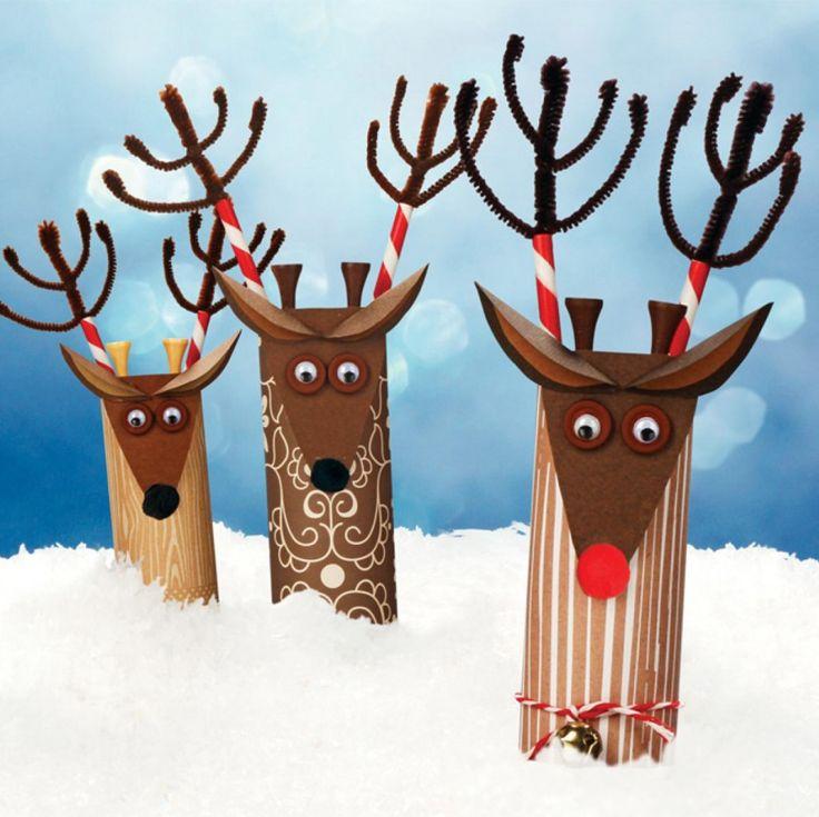 Fun reindeer craft for kids this Christmas.