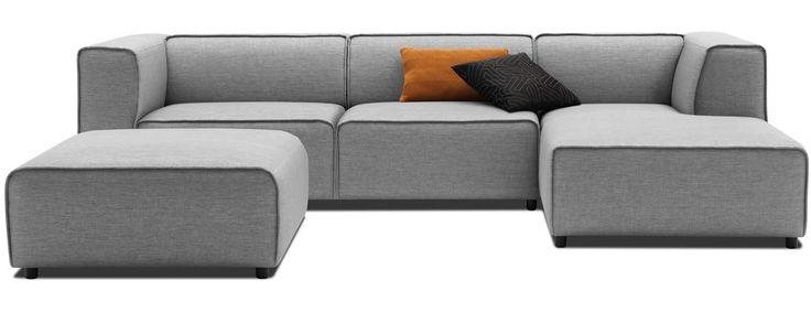 PERFEKT Soffa Till övervåning Från Bo Concept. Modern Carmo Sofas   Quality  From BoConcept | Attic | Pinterest | Boconcept, Modern And Chaise Sofa