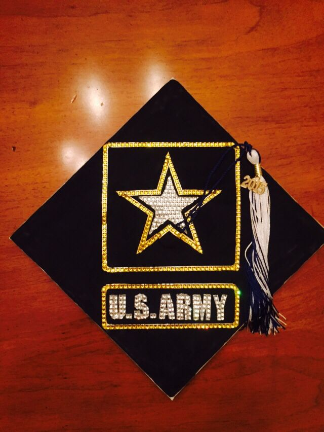 #graduation #cap #army