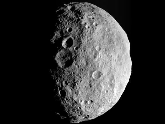 NASA's Dawn probe has left the asteroid Vesta to begin a new journey to the dwarf planet Ceres. While Vesta is still classified as an asteroid, many astronomers consider it bordering on dwarf planet status.