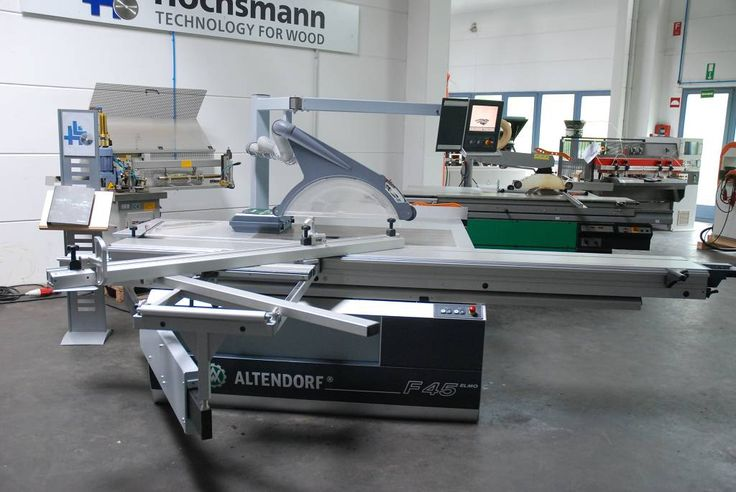 Höchsmann: ALTENDORF F45 ELMO III - Formatkreissäge