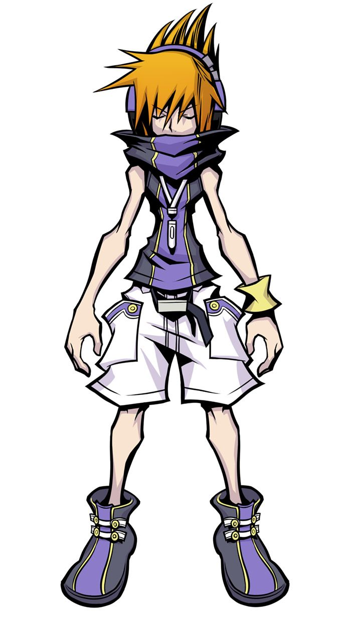 Neku Sakuraba From The World Ends With You Final Remix End Of The World Character Design Inspiration Concept Art Characters