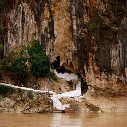 Pak Ou Buddha cave in Luang Prabang, Laos