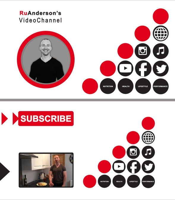 Youtube intro and exit film for personal trainer by Minette.mona