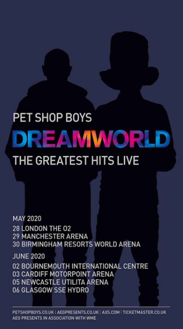 Dreamworld Pet Shop Boys Neil Tennant Boys