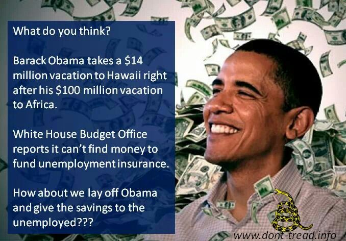 Obama Vacations. ABUSE OF POWER