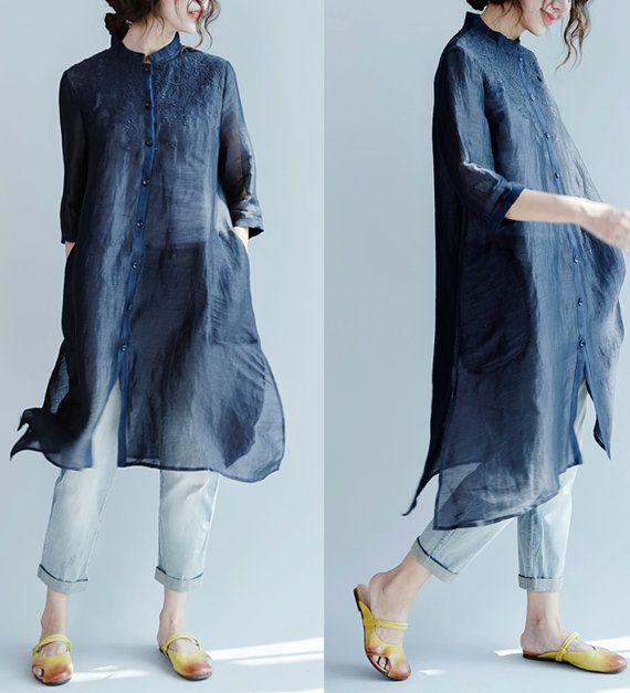 vrouwen vrije tijd shirts/vrouwen losse shirts/vrouwen tops/vrouwen blouses/vrouwen lange blouses/XGTNOV01N006