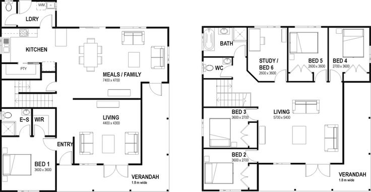 59 Best Images About Floor Plans Less Than 300sq On