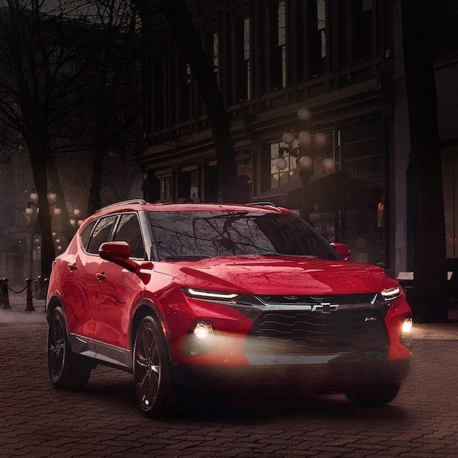 2019 Chevrolet Blazer Sporty Mid Size Suv Chevrolet Canada