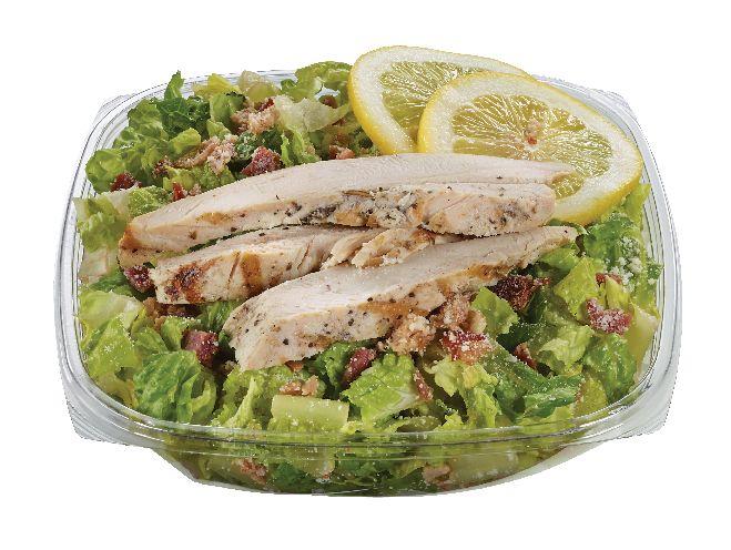Freshly made Chicken Caesar Salad from #YummyMarket