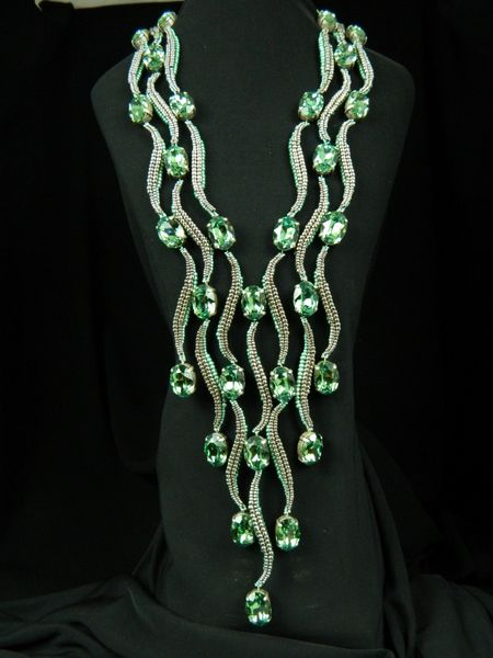 Каскад или наш ответ арабским шейхам | biser.info - всё о бисере и бисерном творчестве
