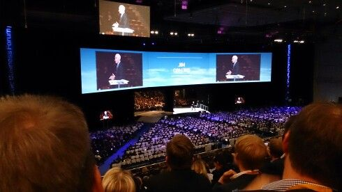 Jim Collins #NBForum2014 in Helsinki #Finland