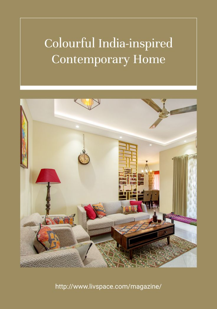 An Inviting 3bhk For A Charming Couple Indian Home Interior