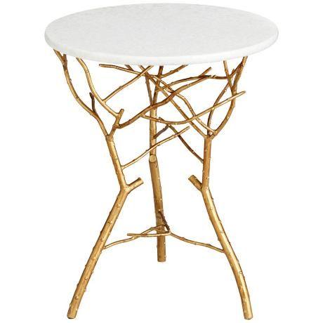 White Round Coffee Table Wood Legs