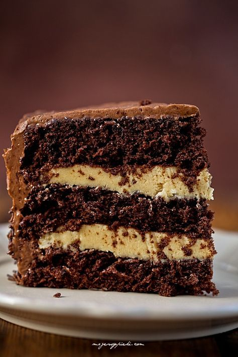 Tort czekoladowo - karmelowy