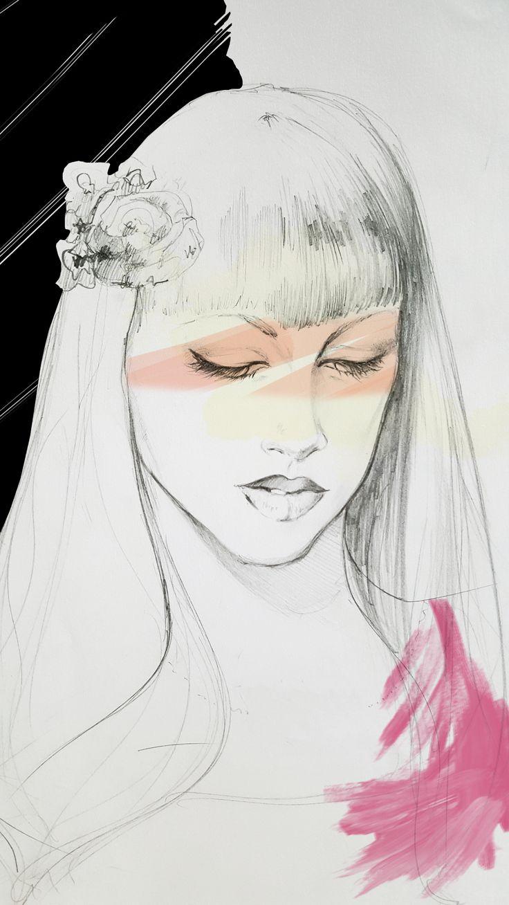 Noemy - Fashion Illustration by Beatrice Busco - Follow me on Instagram #fashion #illustration #art #glamour