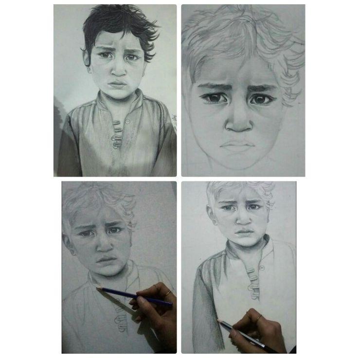 رسمي بالرصاص لطفل من المهجرين
