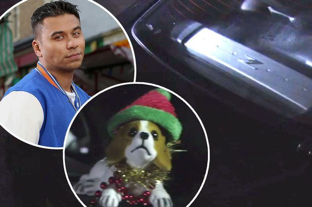 Arthur Fatboy in the boot Eastenders - goodbye to the soap favourite