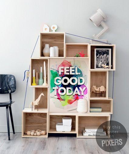Posters motivadores de PIXERS