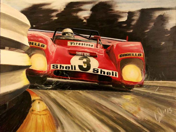 """Respect The Kink"". Ferrari 312 PB at Spa-Francorchamps, driven by Brian Redman."