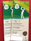#Ticket  2 x Tickets Rio 2016 Olympics GOLF MENS ROUND 2 GO002 FREE UPS SHIPPING #italia