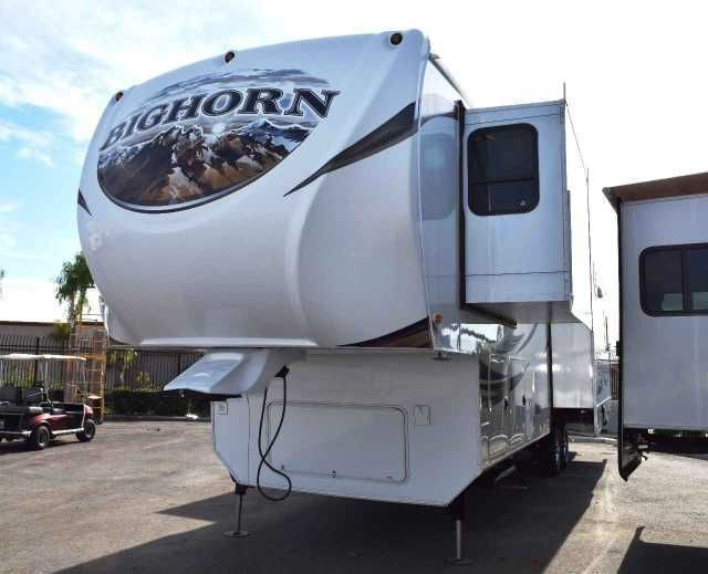 2013 Used Heartland BIGHORN BIG HORN 3685RL Fifth Wheel in California CA.Recreational Vehicle, rv, 2013 Heartland Big Horn 3685RL Fully loaded! Equipped with a Cummins Onan 5500 Generator on board, Magnum Inverter, YETI package, Winegard ( Automatic Multi-Satellite Antenna ), Washer/Dryer prep, 4 door refrigerator, Tons of counter and storage space. Island with storage, Booth dinette that also makes into a extra bed, Fireplace, Motorized Telescoping TV bracket in living room and a TV in the…