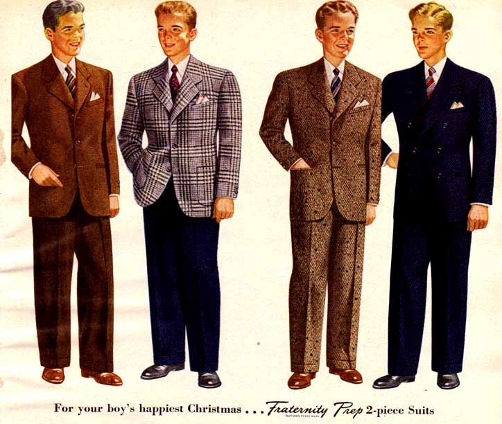 17 best ideas about 1940s mens fashion on 50s
