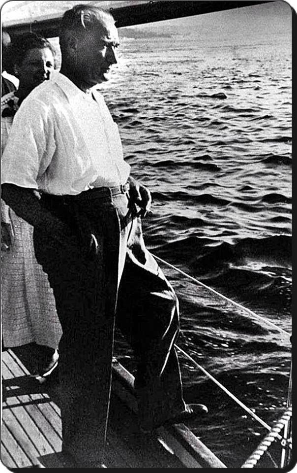 Atatürk,Boğaziçi'nde - 1930'lar