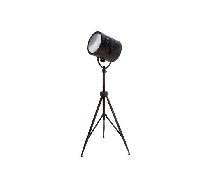 34 best tripod lights table lamps and floor lamps images on pinterest floor lamps floor - Tripod spotlight table lamp ...