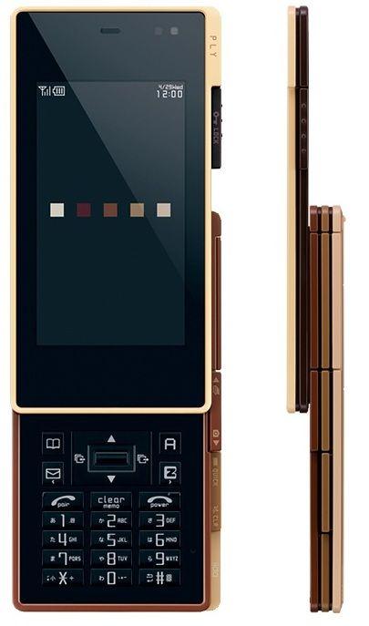 KDDI iida PLY Slider Phone