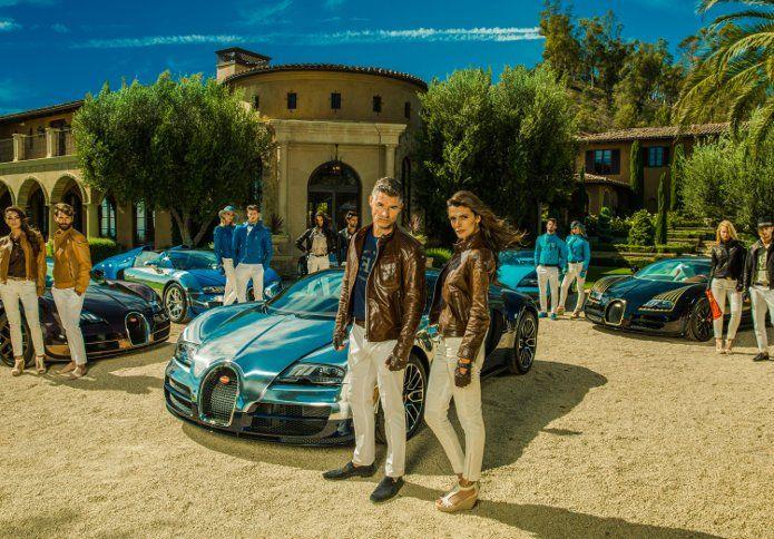 """In occasione della presentazione della collezione completa """"Les Légendes de Bugatti"""" al Concorso d'Eleganza di Pebble Beach, la casa frances..."""