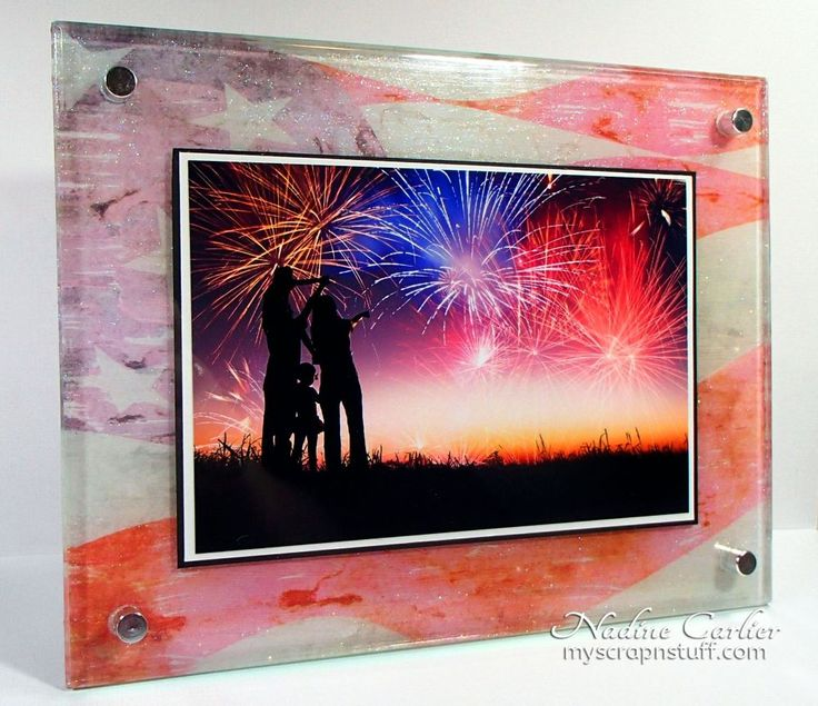 In only an hour, you can turn a cheap photo frame into a masterpiece!