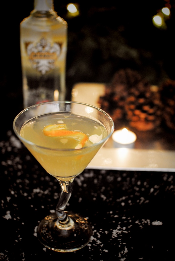 1000 images about winter drinks on pinterest cocktail for Flavored vodka martini recipes