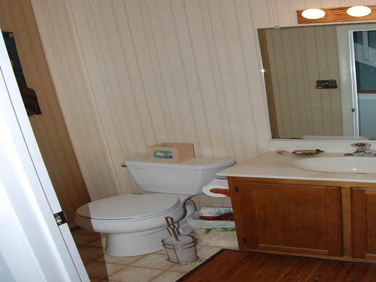 25 best images about how to install wood paneled bathroom for Wood panelled bathroom ideas
