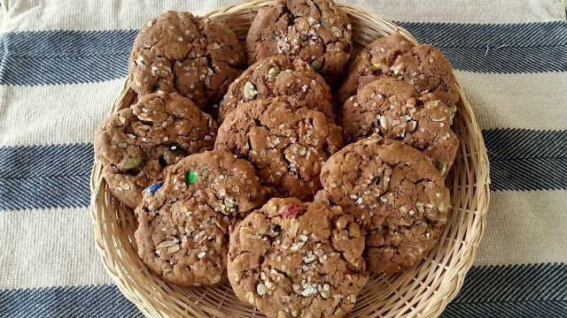 Mennonite Girls Can Cook: Trail Mix Cookies
