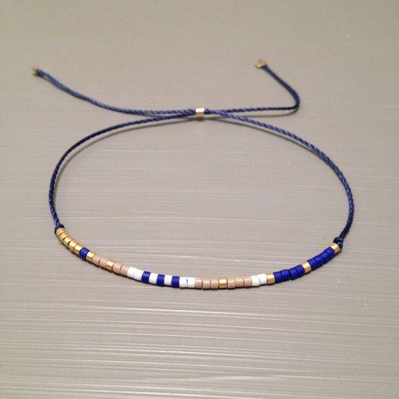 Wish Bracelet Make a Wish Friendship Bracelet Wish Silk Bracelet Bracelet is made of a Miyuki Delica beads and silk thread.This handmade bracelet