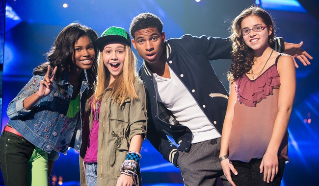 Diamond White, Beatrice Miller, Arin Ray, and Carly Rose Sonenclar - Britney's Teens onThe X Factor