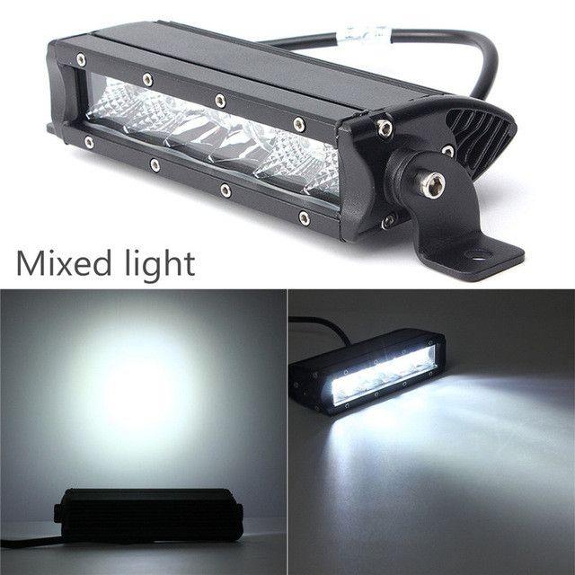 7.5 inch 18W LED Work Light Bar For ATV 4X4 Combo Flood LED Offroad Light Bar