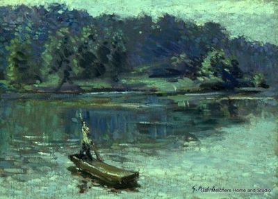 17 best images about gari melchers paintings and for Fish n gari