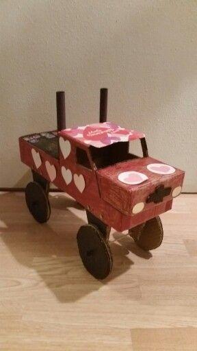 Valentine monster truck box