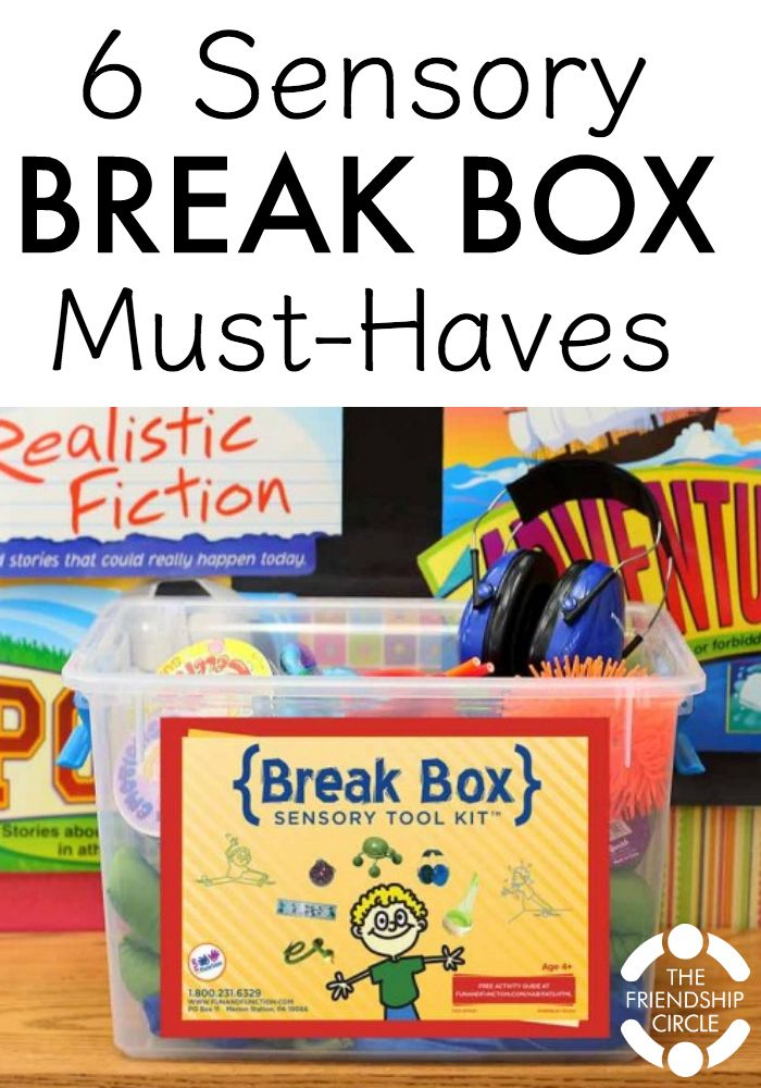 A sensory break helps us orient, process, and refocus. But we don't always have access to a sensory room or a cool breezy day on a hammock. That's when a sensory box comes in handy.
