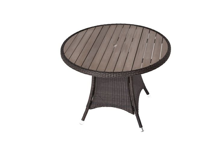 The Round Rattan Table is manufactured with the highest quality Rattan that money can buy and top is made from a thick plaswood that will not split twist or fade. As well as being ideal for outdoor use (it's weatherproof!) this table is easy to keep clean (soap and water is all you need) and maintenance free.