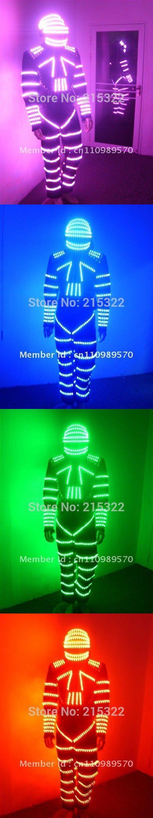 LED Costumes / LED robot suit / LED Dance costume / LED Light costume