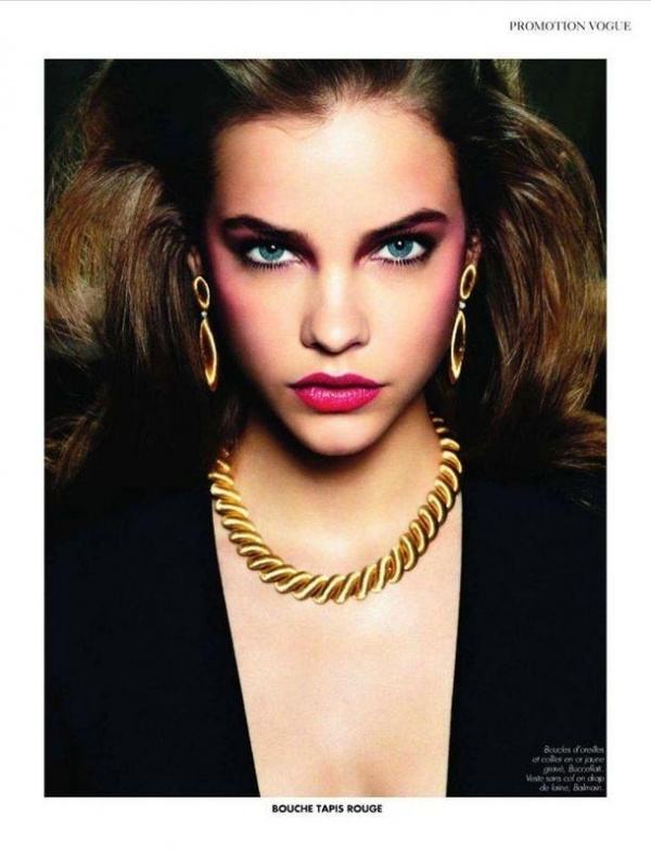 Barbara PalvinMakeup Tools, Barbara Palvin Vogue, Eye Colors, Paris November, Vogue Paris, November 2011, Makeup Eye, Beautiful Shots,  Lips Rouge