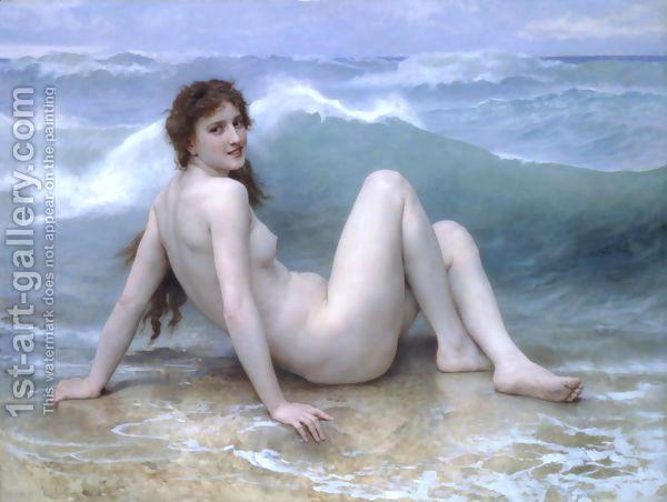 La Vague (The Wave) by William-Adolphe Bouguereau