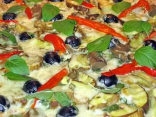 Пицца с креветками - фоторецепт. Готовим дома.