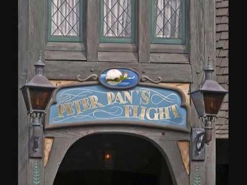 ▶ Disneyland Peter Pan's Flight queue music - YouTube