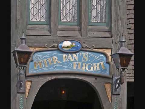 ▶ Disneyland Peter Pan's Flight queue music - YouTube