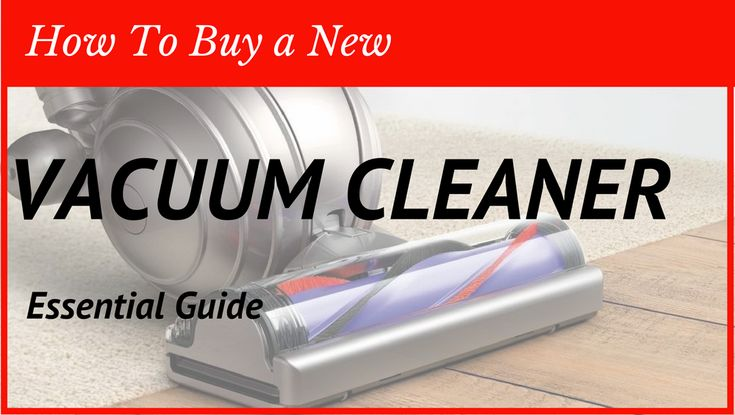 Your vacuum cleaner has given up and you decide to go shopping or look online for a replacement. The only problem is that there's so many to choose from. How lucky for you to have found this page. I've put together a consumer guide for vacuum cleaners to give you a better outline of the things to consider when buying a new vacuum cleaner.