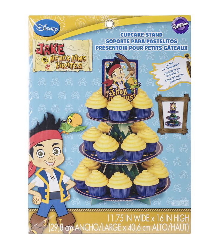 Wilton Cupcake Stand-Jake and the Never Land Pirates